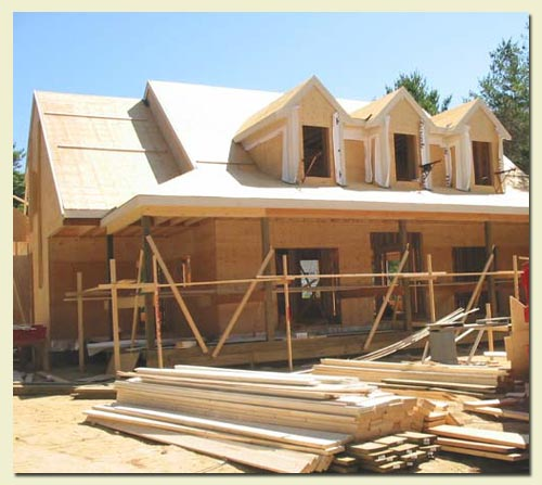 Building house for New house construction contract
