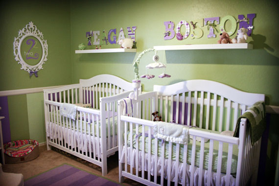 Beyond Pink And Blue Pt 3 Doubling Up For A Great Nursery For Twins