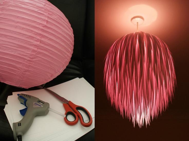 Globe Paper Lamp