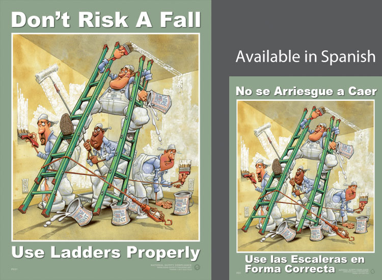 LP831-ladder_safety_poster