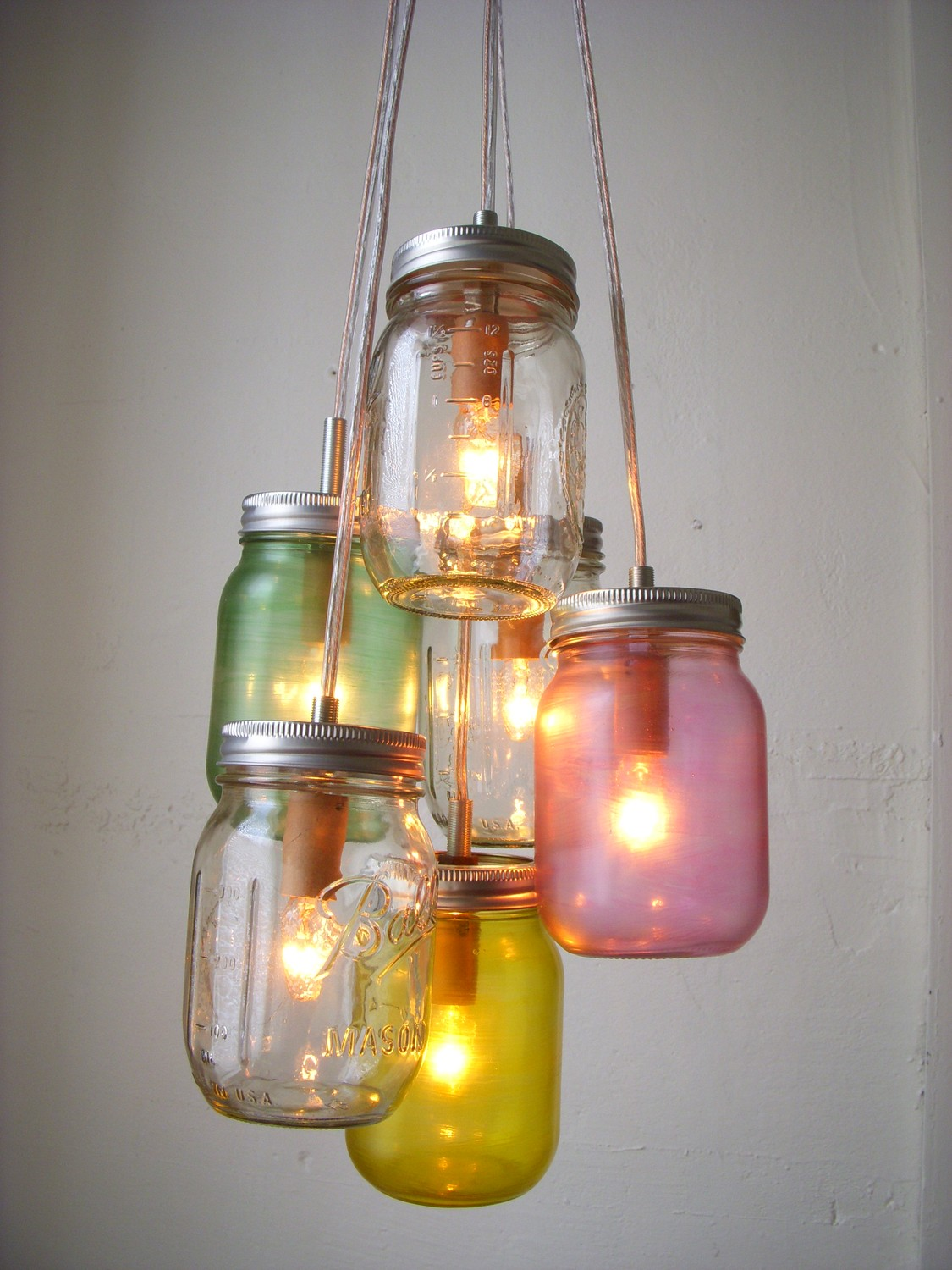 Light and Lovely: Hip DIY Light Fixture Ideas