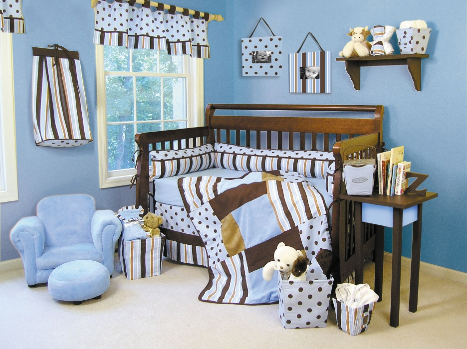 Baby Blue Baby Room